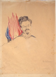 leon trotsky by philipp maliavan