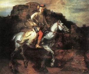 Rembrandt_-_The_Polish_Rider-wikimedia