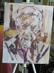 VH portrait in progress