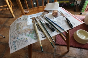 brushes etc