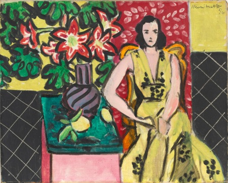 Seated Woman with a Vase