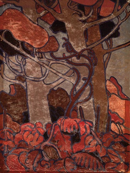 Forest Undergrowth by Tom Thomson 1915-1916
