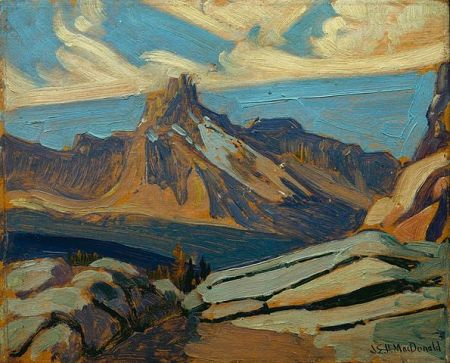 Cathedral Mountain by J.E.H. MacDonald , 1927