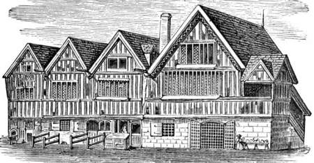 Nottingham Guild Hall in 1750